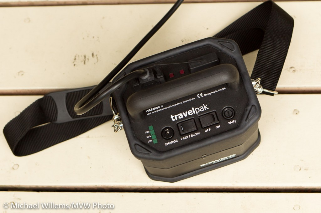 Bowens battery pack