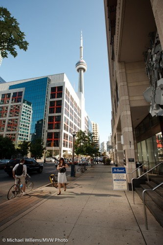 Toronto Downtown Light, John Street, photo by Michael Willems