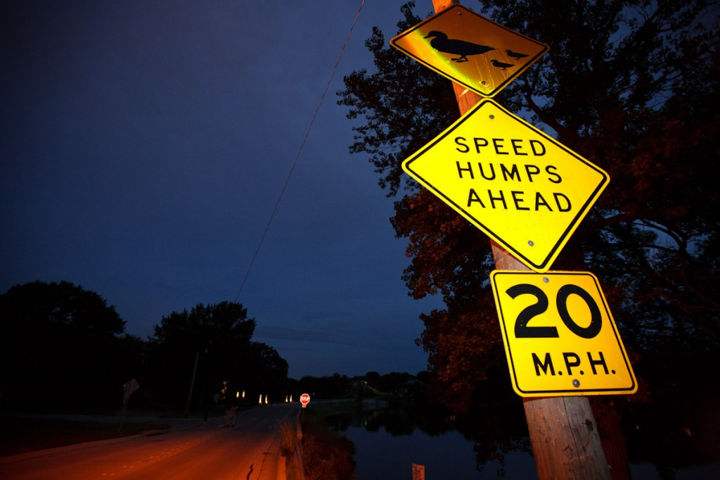 Speed Humps!