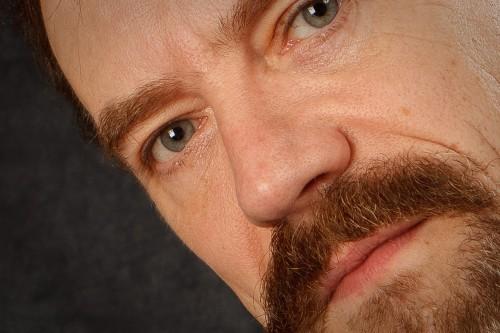Michael Willems - self portrait, detail