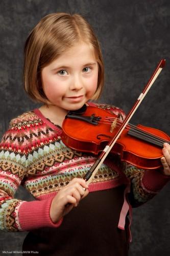 Music School Violinist