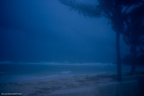 Storm in Sint Maarten (Photo: Michael Willems)