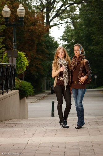 Models in Oakville (Photo: Michael Willems)