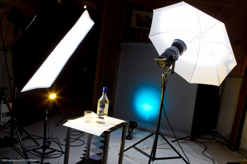 Product Shot Setup (Photo: Michael Willems)