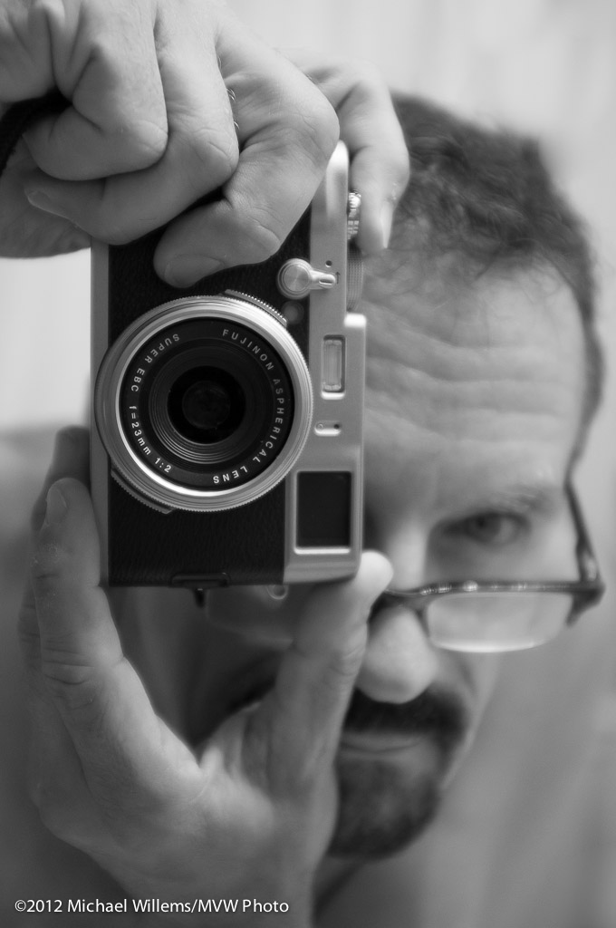 Michael Willems, Photographer (Fuji X100 self portrait)
