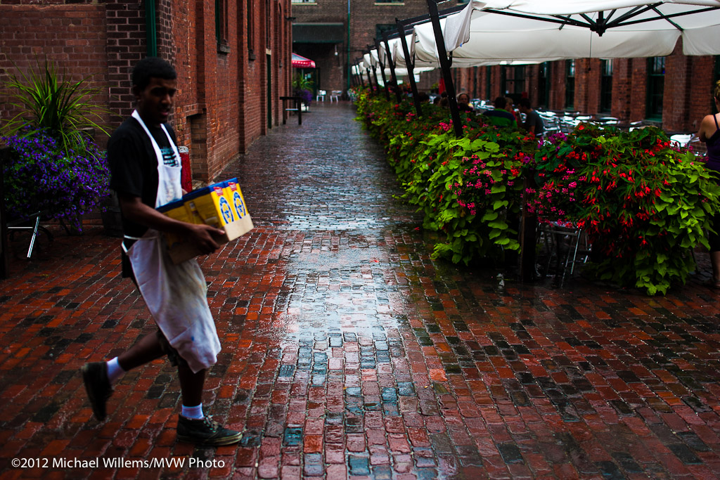 Rainy Day in The Distillery, August 2012 (Photo: Michael Willems)