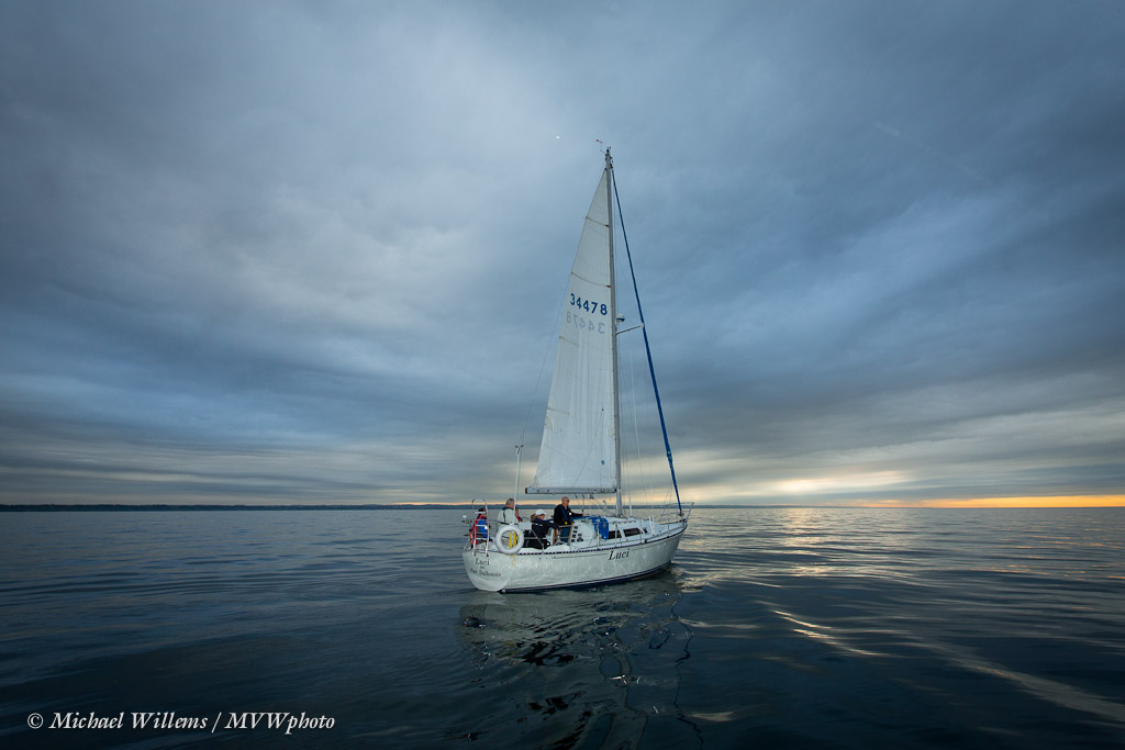 Sailing - photo by Michael Willems