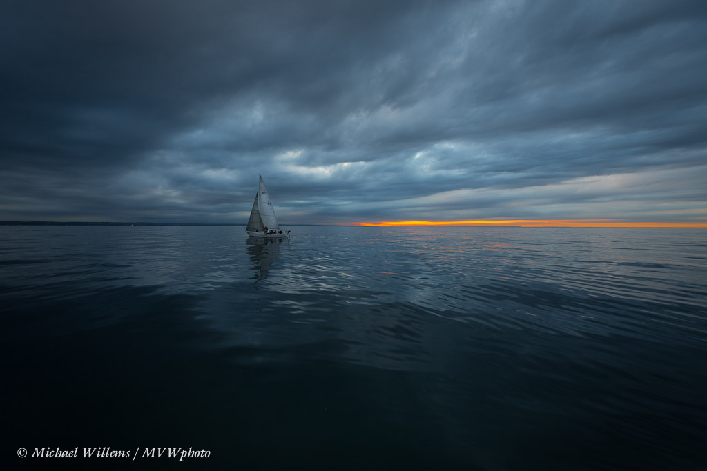 Lake Ontario Sailing, Photo by Michael Willems