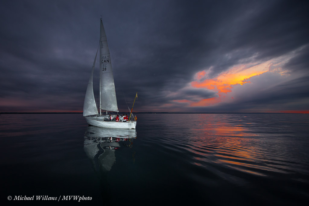 Sailing on Lake Ontario (Photo: Michael Willems)