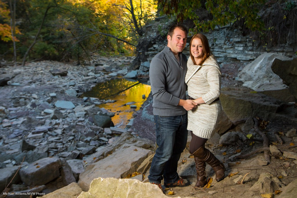 Dan and Kristen, engagement shoot, Photo Michael Willems
