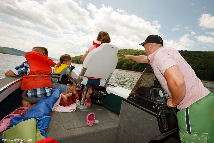 Boating in upstate New York (Photo: Michael Willems)