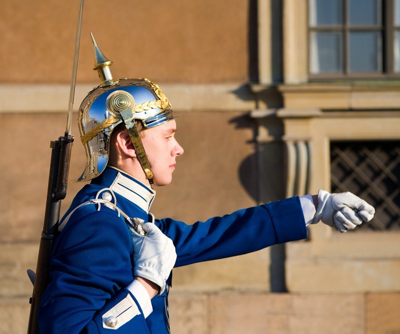 Stockholm Palace Guard (Photo: Michael Willems)